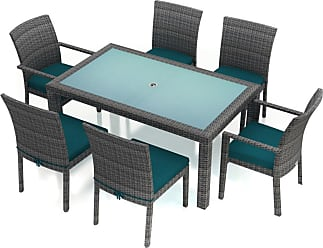 Harmonia Living Outdoor Harmonia Living District 7 Piece Patio Dining Set - HL-DIS-TS-7DS-PC