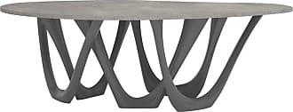 Zieta G-table B+c In Powder-coated Aluminum With Concrete Top By Zieta