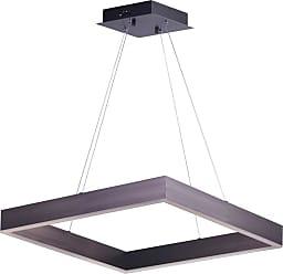 ET2 E24296 Metallika 25 Wide LED Chandelier Brushed Aluminum Indoor