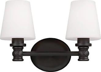 Feiss Xavierre 2 - Light Vanity in Oil Rubbed Bronze