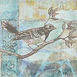 Portfolio Canvas Decor Portfolio Canvas DecorFlorentine Songbird II by Paul Brent 16x16 Portfolio Décor Canvas Print Wall Art