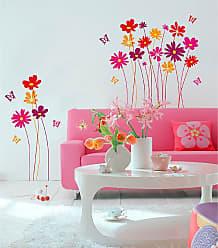 Ideal Decor Flower Meadow Wall Decals - DM74109