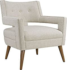 ModWay Modway Sheer Upholstered Fabric Mid-Century Modern Accent Lounge Arm Chair in Sand