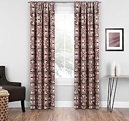 Ellery Homestyles Eclipse Islington Room Darkening Single Window Curtain 37x84 Brick