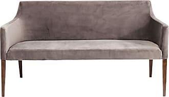 Sitzbank mit stauraum grau textil stoff garderobenbank truhe