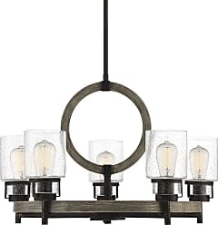 Savoy House 1-2130-5 Hartman 5 Light 27 Wide Chandelier with Glass