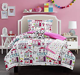 Chic Home Kids City 5 Piece Comforter Set Quaint Town Theme Youth Design Bedding - Throw Blanket Decorative Pillow Shams Included Full
