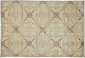 Solo Rugs Oushak Hand Knotted Area Rug 4 2 x 6 1 Ivory