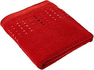 Tommy Hilfiger Toallas de mano Uni Red Toalla 100/x 150/cm