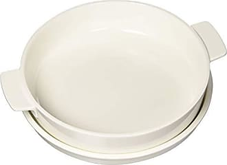 Villeroy & Boch Clever Cooking Round Baking Dish with Lid by Villeroy & Boch - Premium Porcelain Baking Dish - Made in Germany - Dishwasher and Microwave Safe - 9.5 Inches
