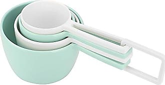 Zak designs 2324-7440 MeeMe Measuring Cups, 4-piece set, Eggshell White