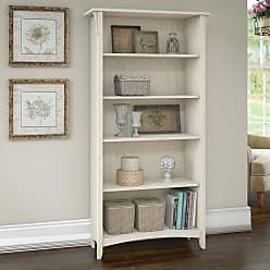 The Gray Barn Lowbridge 5-shelf Bookcase in Antique White (Lateral File)