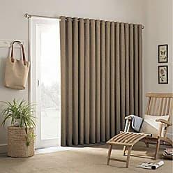 Ellery Homestyles Parasol 15929100X084CAM Key Largo 100-Inch by 84-Inch Patio Indoor / Outdoor French Single Door Panel, Caramel