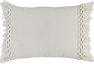 Ellery Homestyles Rivet Modern Throw Pillow, 18 x 12, White