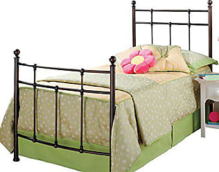 Hillsdale Furniture Hillsdale Furniture 380BTWR Providence Bed Set with Rails, Twin, Antique Bronze