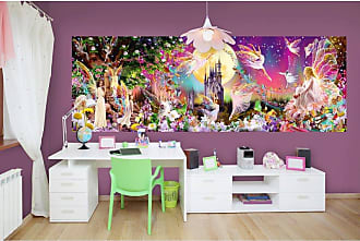 Ideal Decor Fairyland Wall Mural - DM311