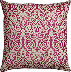 Rizzy Home T10481 Decorative Poly Filled Throw Pillow 22 x 22 Pink