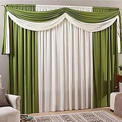 SULTAN Cortina de Malha Cairo Verde c/Marfim 300x250 Sultan