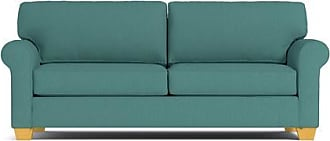 Apt2B Lafayette Queen Size Sleeper Sofa - Leg Finish: Natural - Sleeper Option: Deluxe Innerspring Mattress - Teal Poly Blend - Sold by Apt2B - Modern