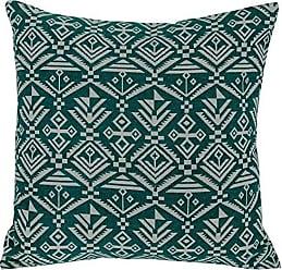 Varaluz Casa 421A01GN Tribal Square Throw Pillow - Green