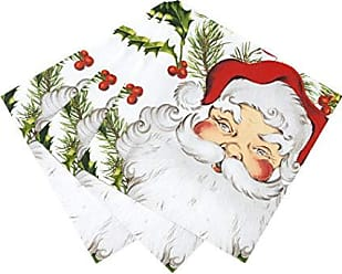 Verde e Rosso Talking Tables Botanical Christmas Holly Foil Table Scatter