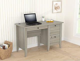 Inval America Sherbrook Computer Writing Desk Espresso-Wengue - ES-9303