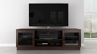 Furnitech 70 in. Contemporary TV Stand - Wenge - FT70CCW