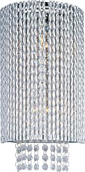 ET2 Contemporary Lighting ET2 Contemporary Lighting E23131-10PC Spiral 2-light Wall Sconce in Polished Chrome finish