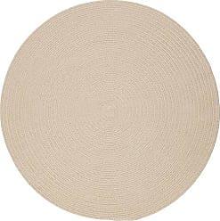 Rhody Rug Fun Braids Solid Sand Beige 8 Round