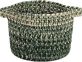 Colonial Mills Monet Ombre Basket, 14x14x15, Green