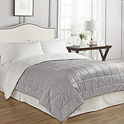 Ellery Homestyles Beautyrest Eiffel Warming Technology Blanket, King, Grey