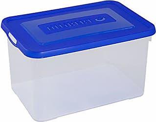 Allibert 225555/Handy Box Plus Tapa con Clip Transparente pl/ástico 80/x 50/x 39/cm 115/L