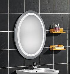 Elegant Furniture & Lighting Oval LED Wall Mirror 3000K - MRE-6018