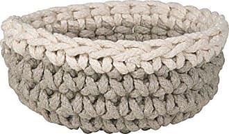 Danica Studio Crocheted Basket, Ivory