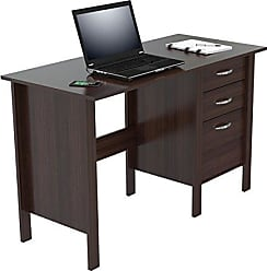 Inval America ES-7103 Writing Desk with 3 Drawers, Espresso Wengue
