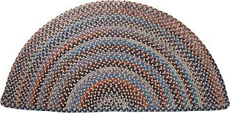 Rhody Rug Blue Ridge Half Round Wool Braided Rug, 2 x 4