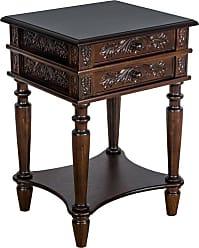 Wayborn 2 Drawer End Table - JC003