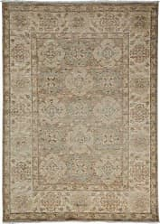 Solo Rugs Oushak Hand Knotted Area Rug, 4 1 x 5 4, Beige