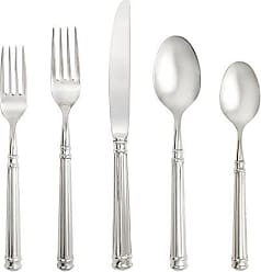Fortessa Nyssa 18/10 Stainless Steel Hollow Handle Flatware 5 Piece Place Setting, Service for 1