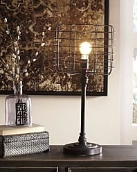 Ashley Furniture Javan Table Lamp, Antique Black