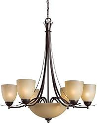 Woodbridge Lighting 12182-MAB Kearney 7 Light 29-1/2 Wide Single Tier