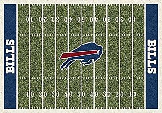 Milliken Carpet Buffalo Bills NFL Team Home Field Area Rug by Milliken, 310 x 54, Multicolored