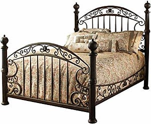 Hillsdale Furniture Hillsdale Furniture 1335BKR Chesapeake Bed Set with with Rails, King, Rustic Old Brown