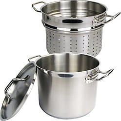 Winware by Winco Inset Cover Stainless Steel Size 7 Quart
