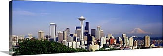 Great Big Canvas Seattle Skyline Canvas Wall Art - 67598_24_36X12_NONE