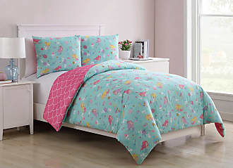 VCNY Mermaid Princess Reversible Kids Comforter Set by VCNY Home, Size: Full,Twin - ME4-3CS-FULL-IN-F1