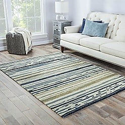 Jaipur Living Sketchy Lines Indoor/ Outdoor Abstract White Area Rug (2 X 3)