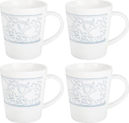 Royal Doulton Ellen DeGeneres Polar Blue Accent Mug - Set of 4