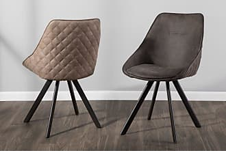LumiSource Marche Contemporary Dining Side Chair - Set of 2 Dark Gray - CH-MAR BK+DGY2
