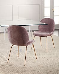 Interlude Home Luna Chenille Dining Chair
